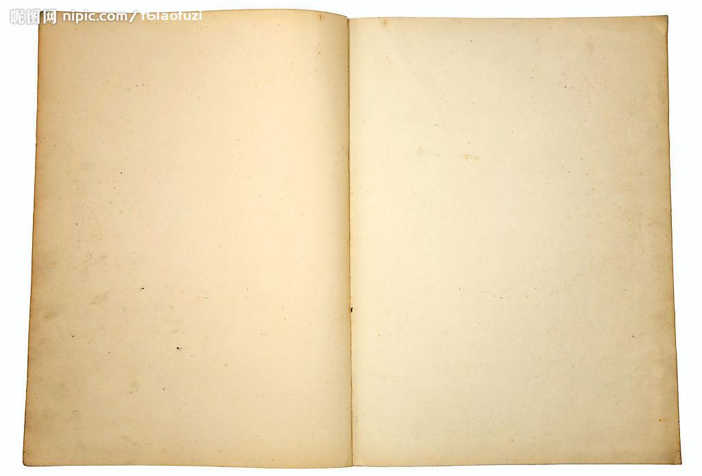旧书页素材