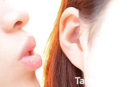 每个人的耳朵形状不一样