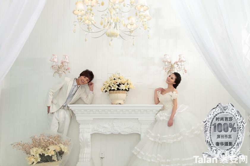 时尚芭莎婚纱摄影为您呈现最美丽瞬间 绝对原创
