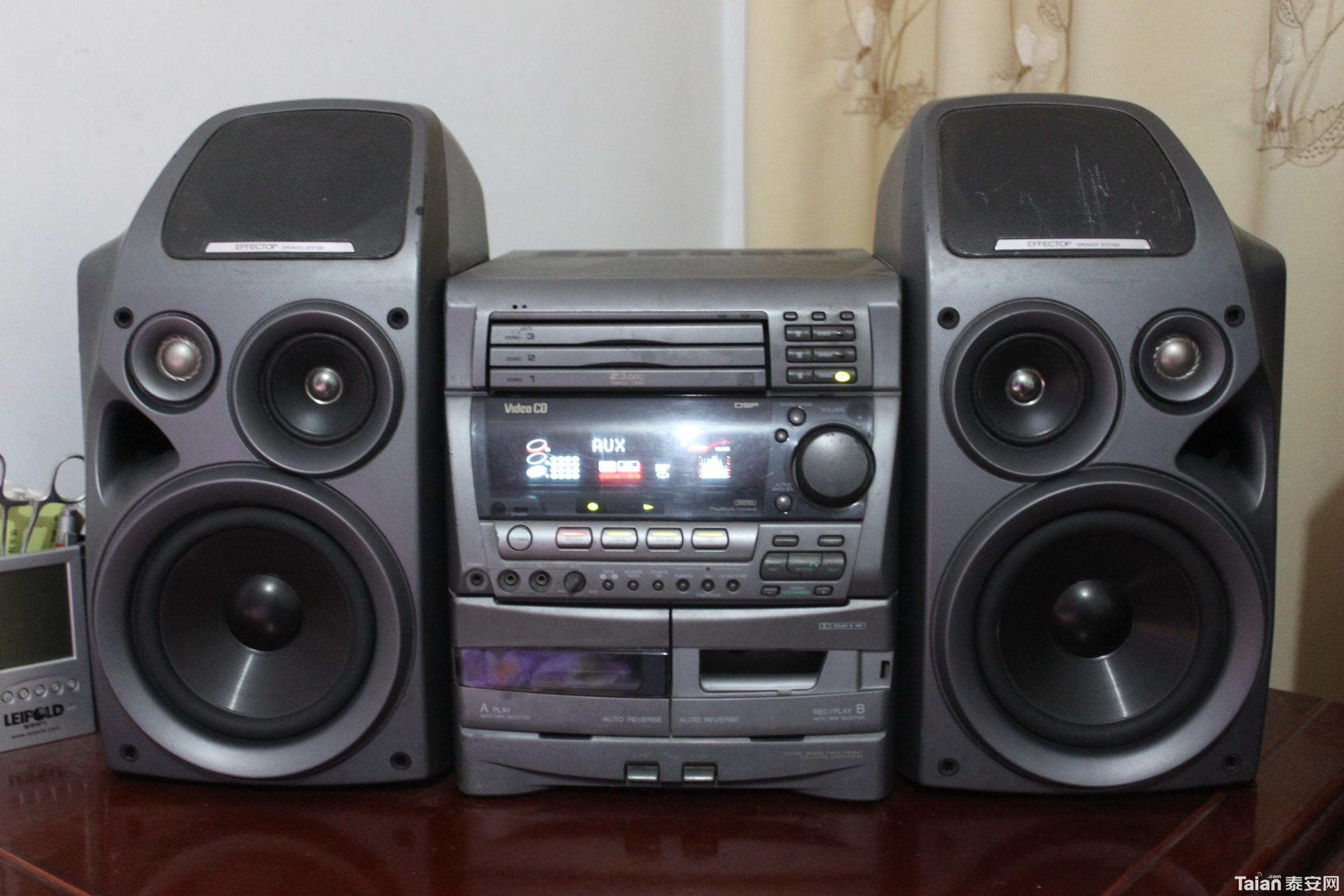 jvc ca-v805t组合音响