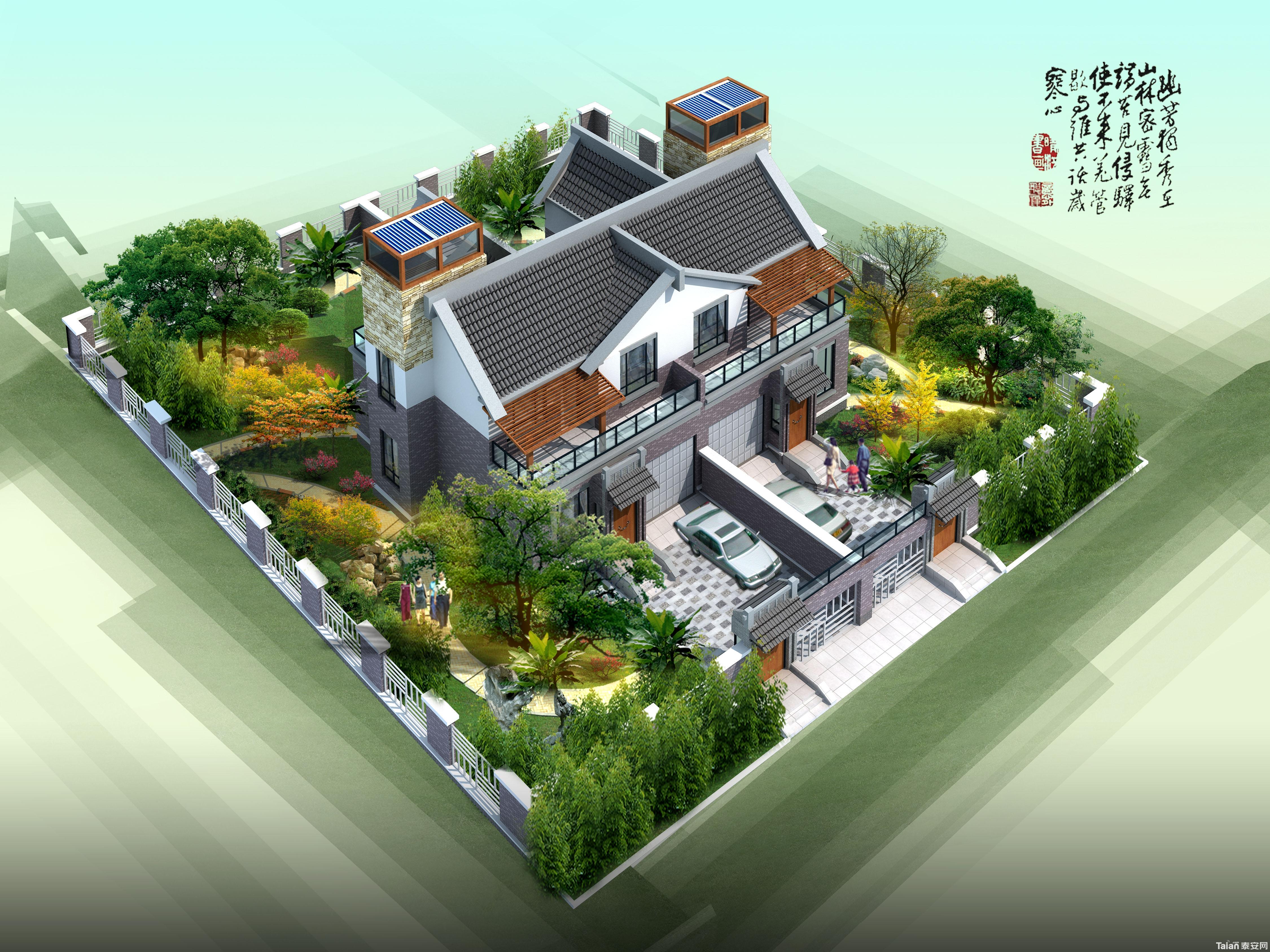 别墅蔬菜花园设计平面图