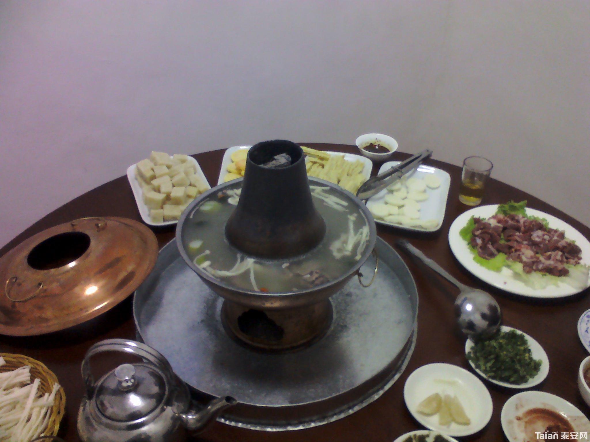 2月23日晚餐,顺祥木炭火锅.