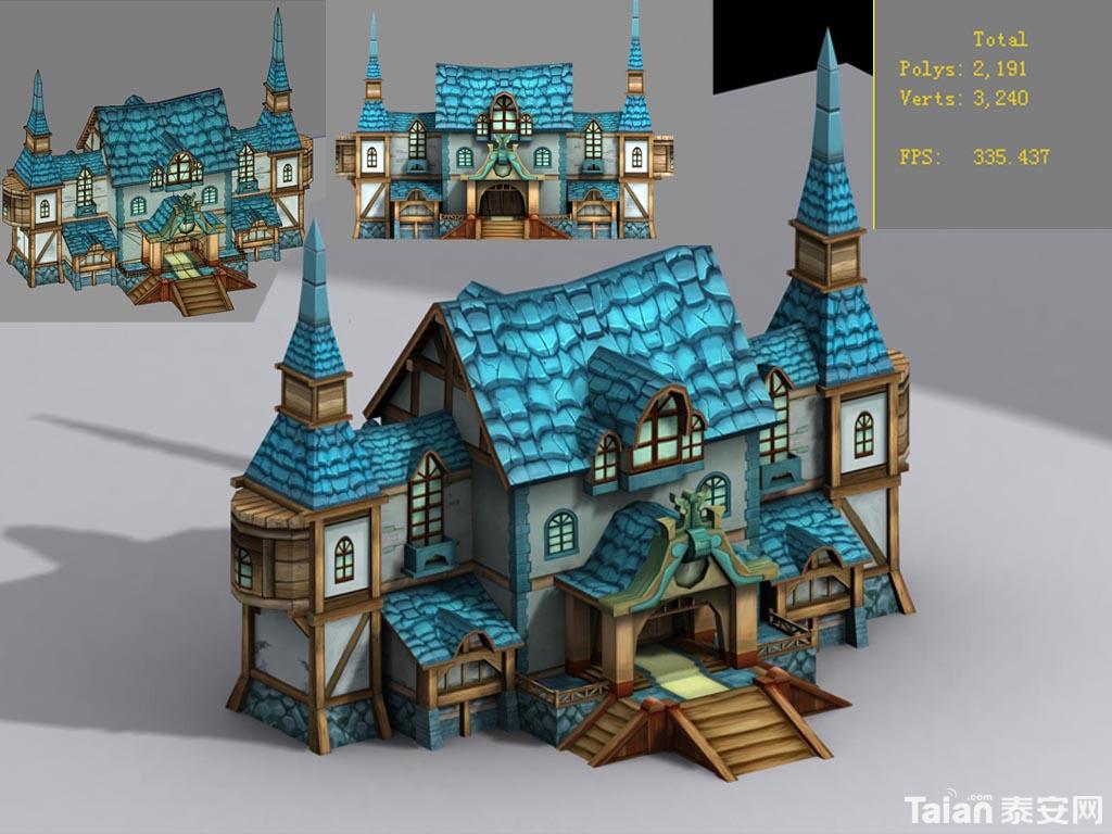 简单城堡步骤图片