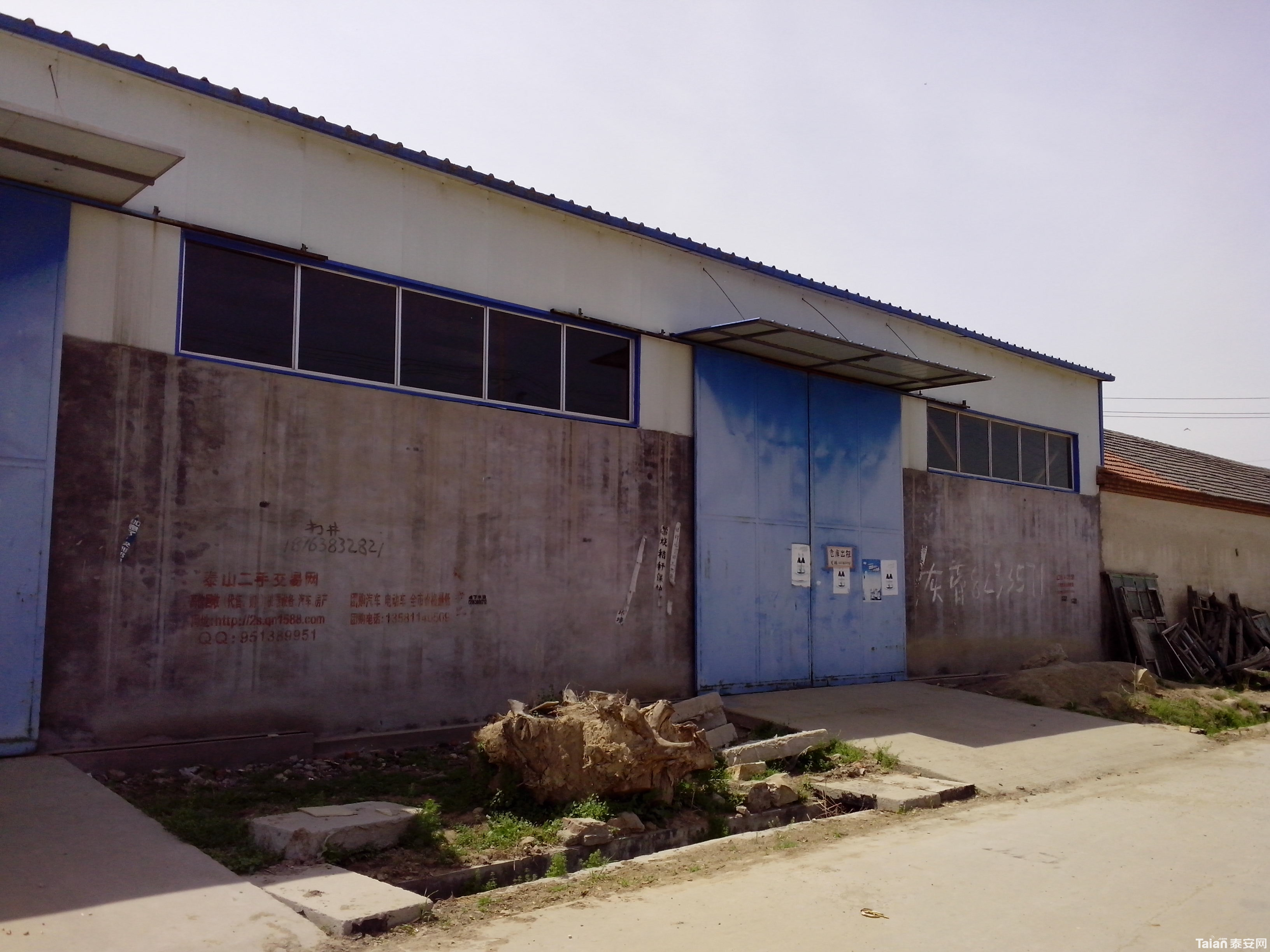 430平方米钢架结构仓库出租