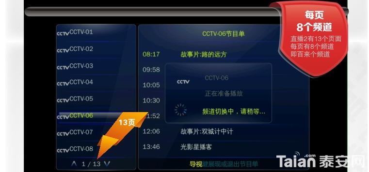 有网络就能看电视,批发网络机顶盒,安卓版只要260元