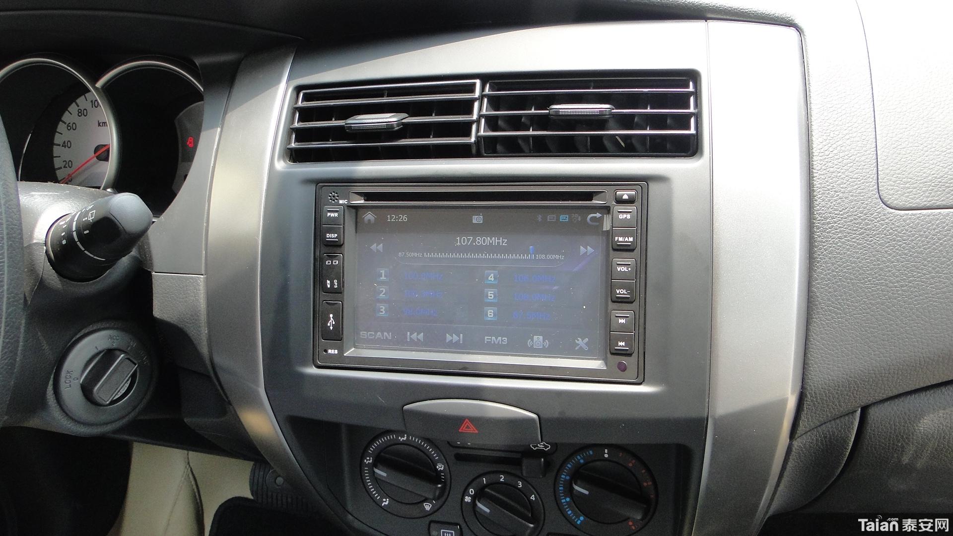 日产骊威dvd导航一体机收音机界面 日高清图片