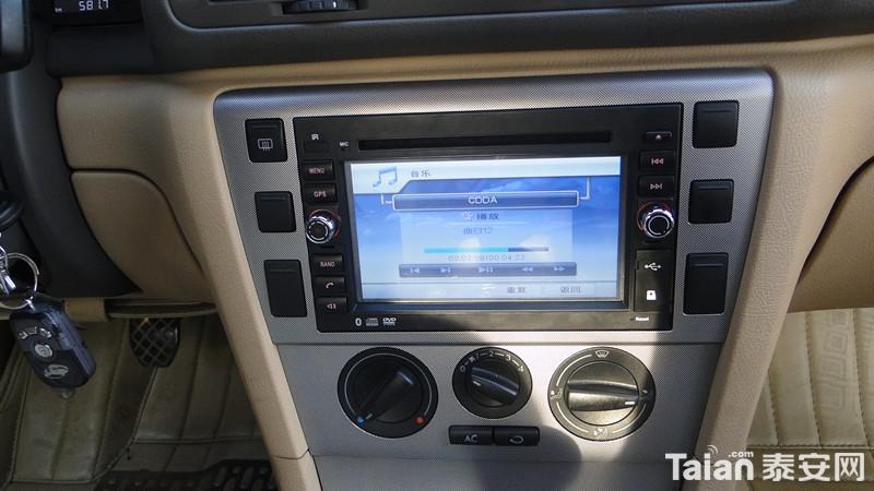 帕萨特领驭安装专车专用DVD导航一体机