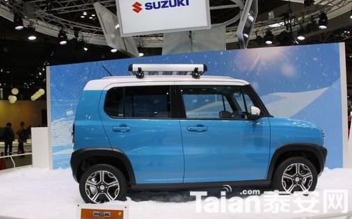 铃木全新小型SUV将于明年发布高清图片
