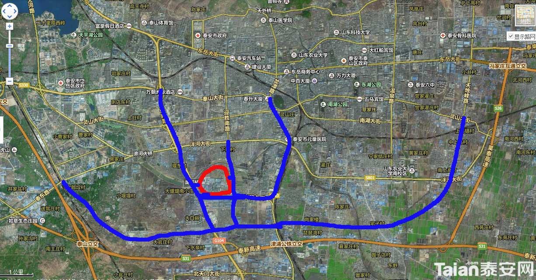 泰安老汽车站搬到长城路上如何?