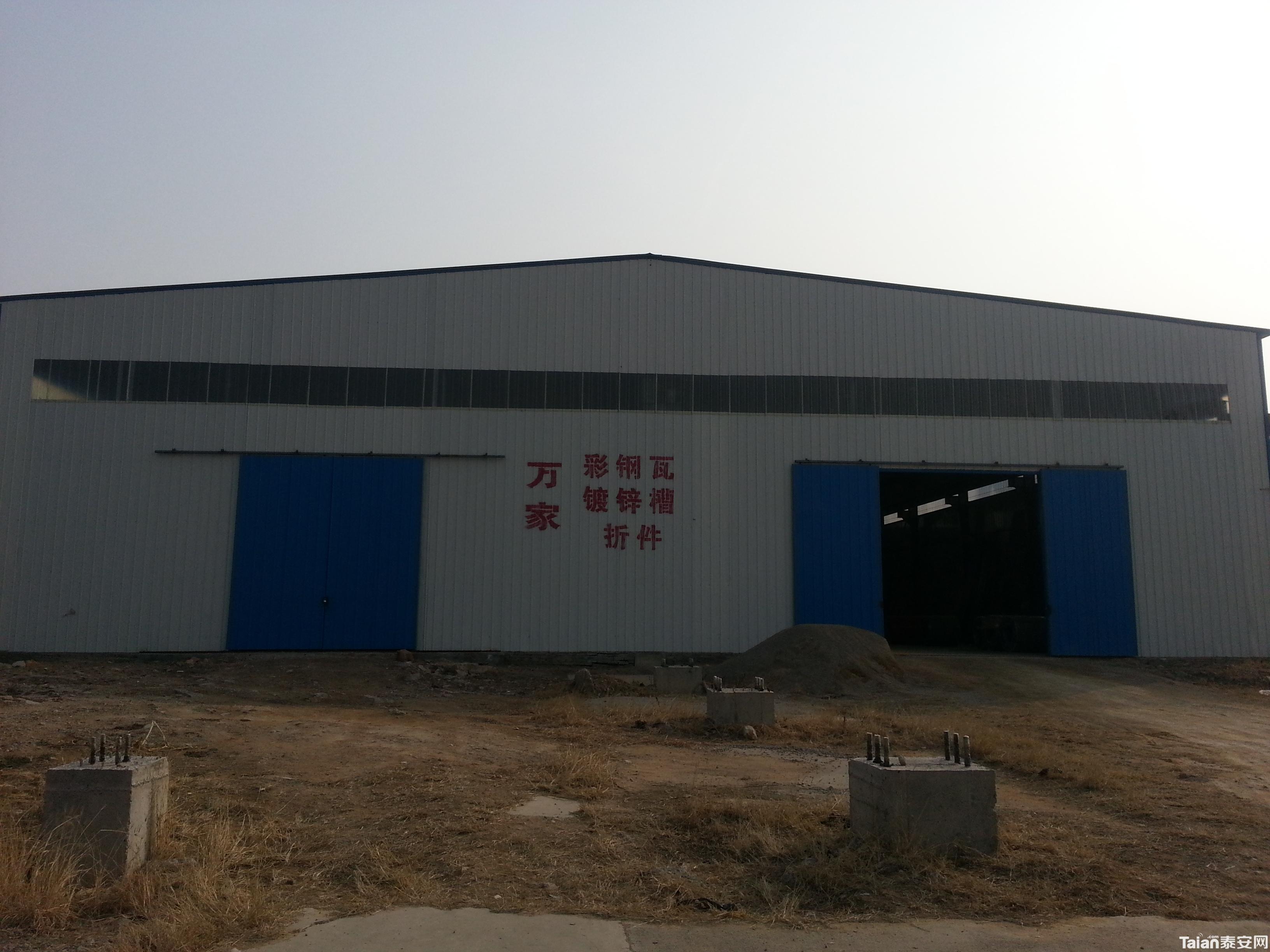 单彩钢瓦厂房设计图20米跨度展示