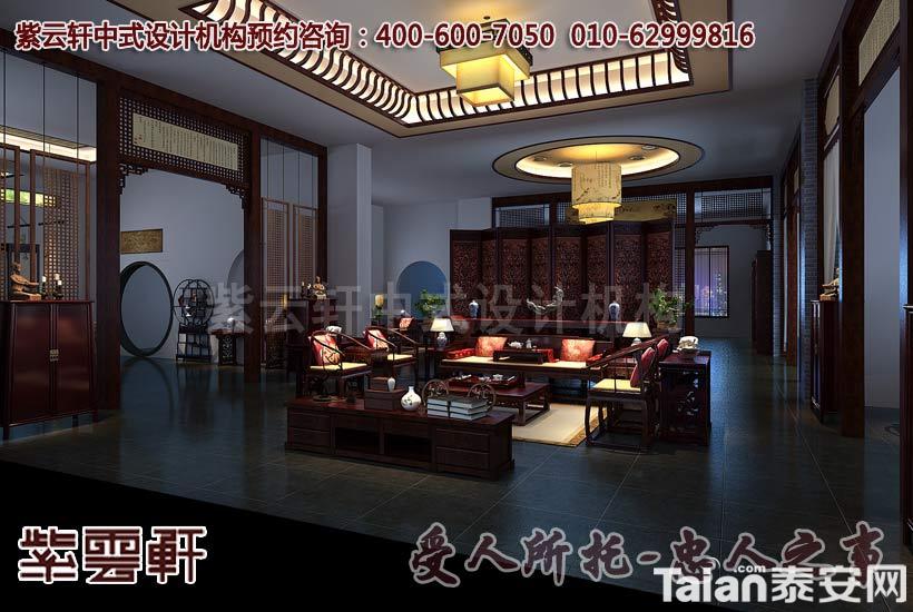 新中式红木家具店面展厅