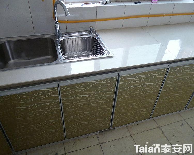 瓷砖橱柜灶台|橱柜图片|橱柜设计|砖砌橱柜|水泥
