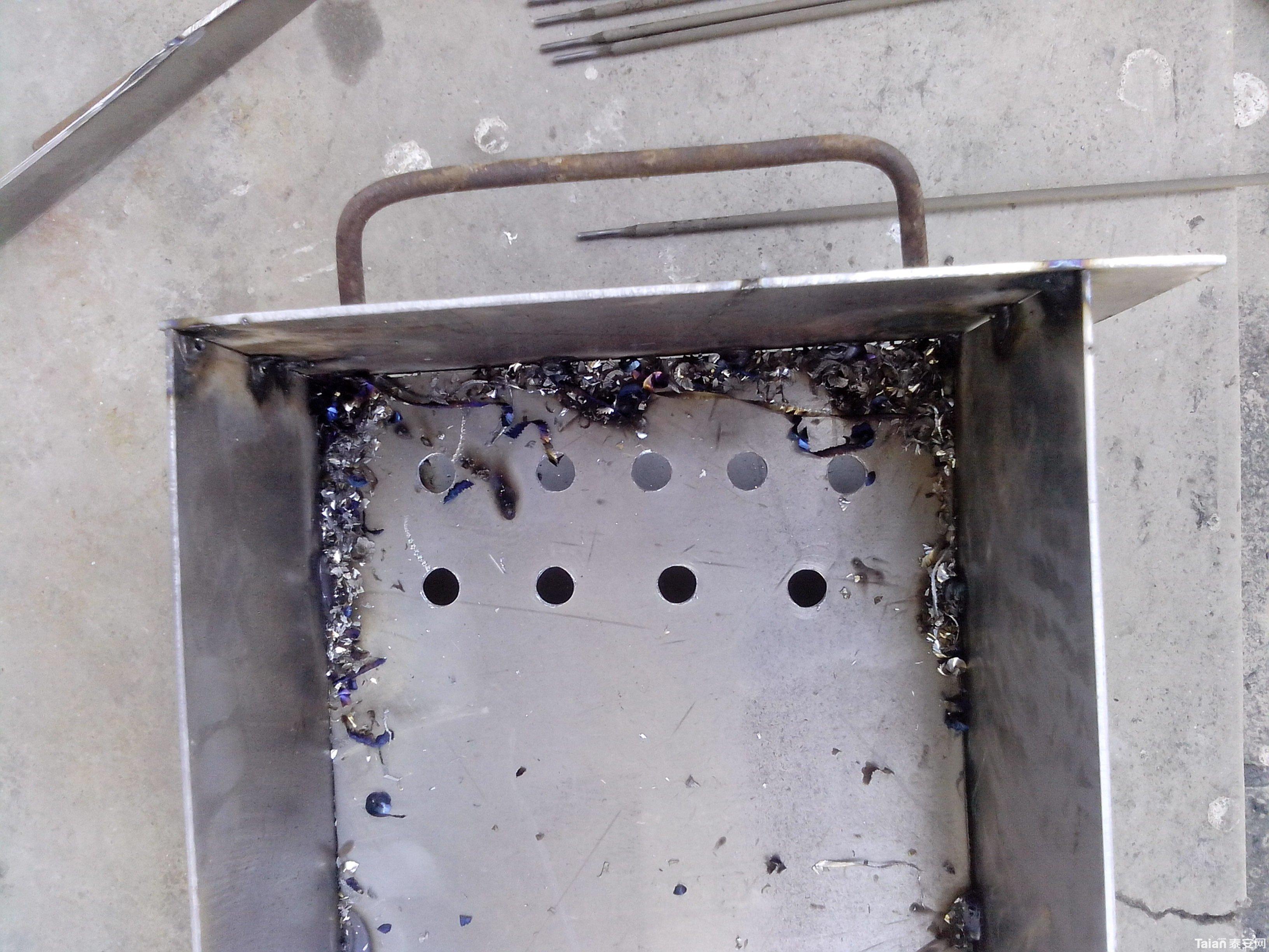 自己造个烧烤炉图片