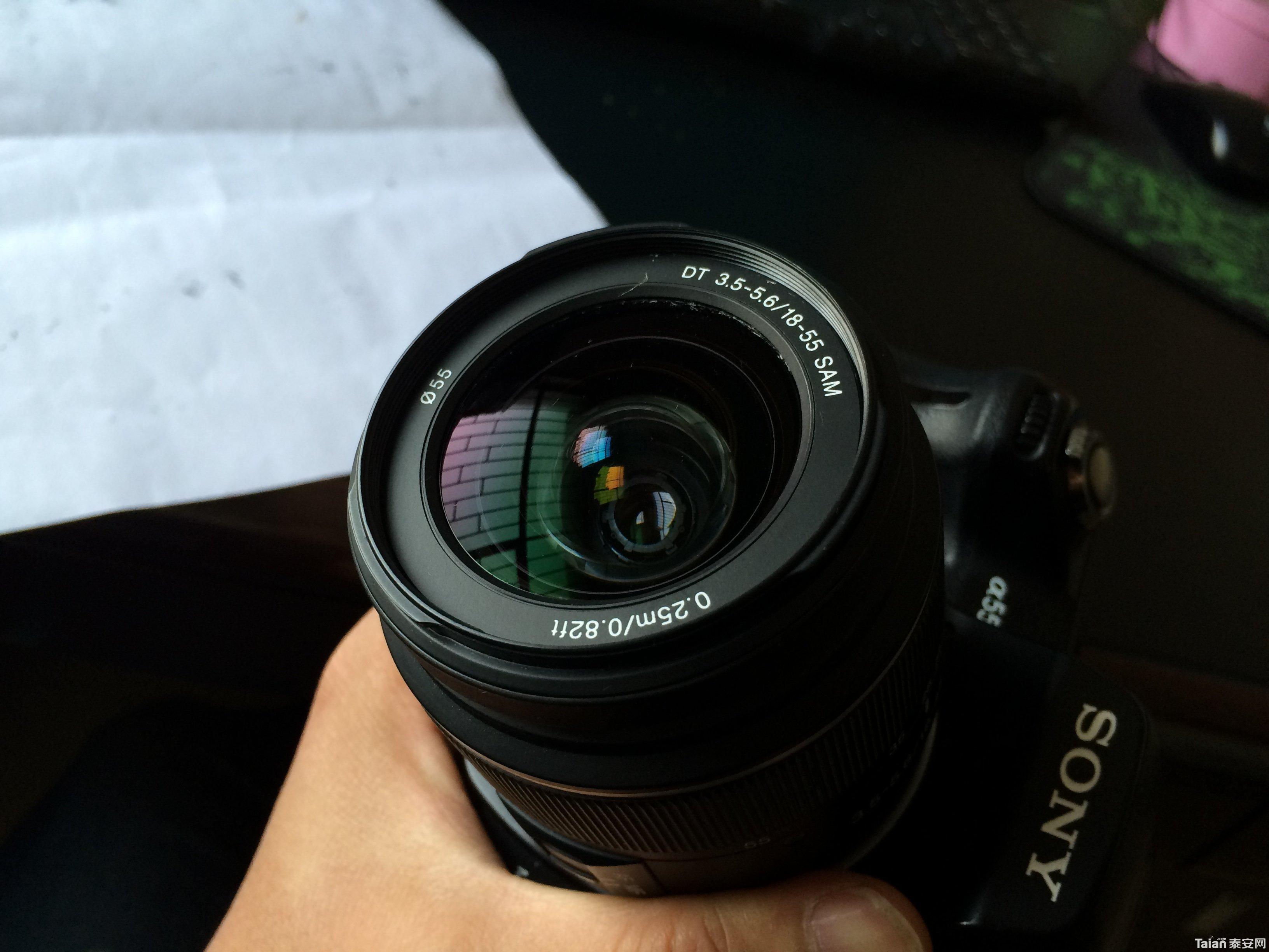 自用sony 单反相机 a550 换门出