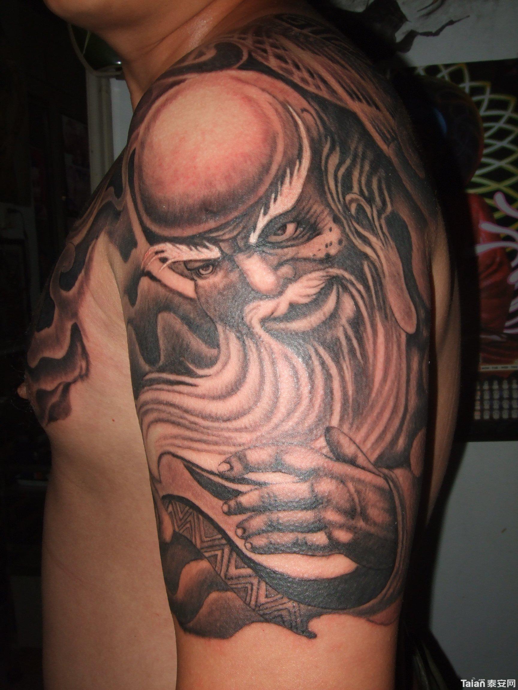 龙艺堂纹身社纹身作品