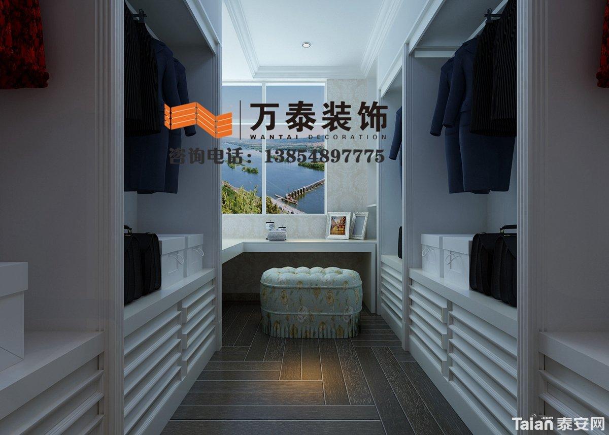 泰安国际金融中心270平欧式新古典风格装修