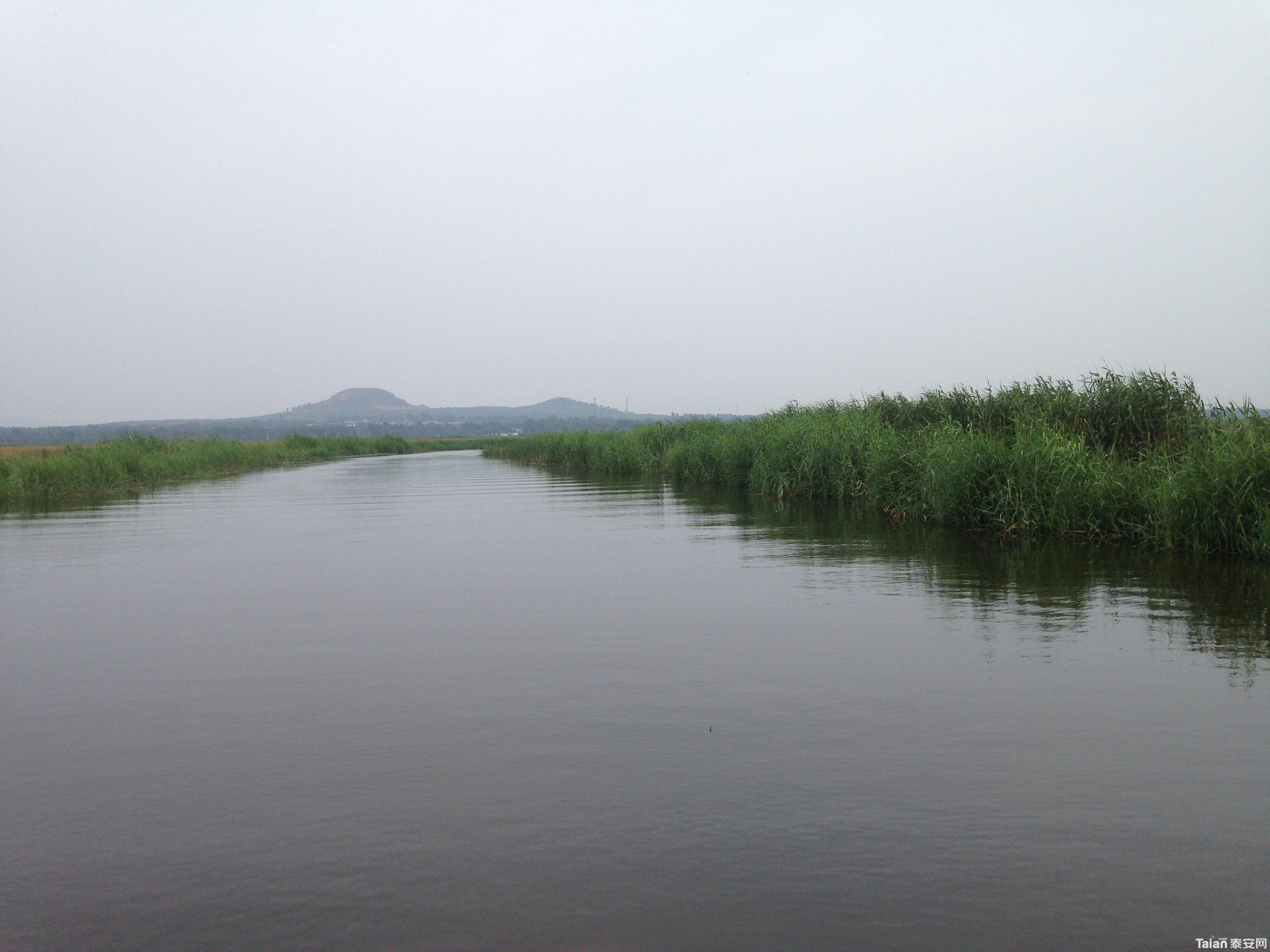 东平湖游船 - 游山玩水