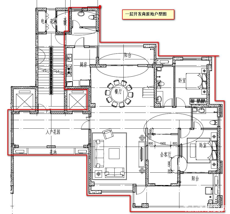 一楼开发商原始户型图.png