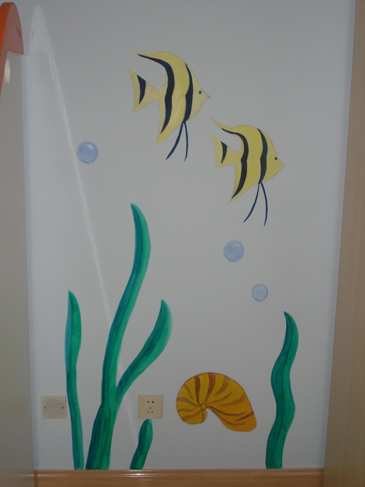 儿童房—海底世界