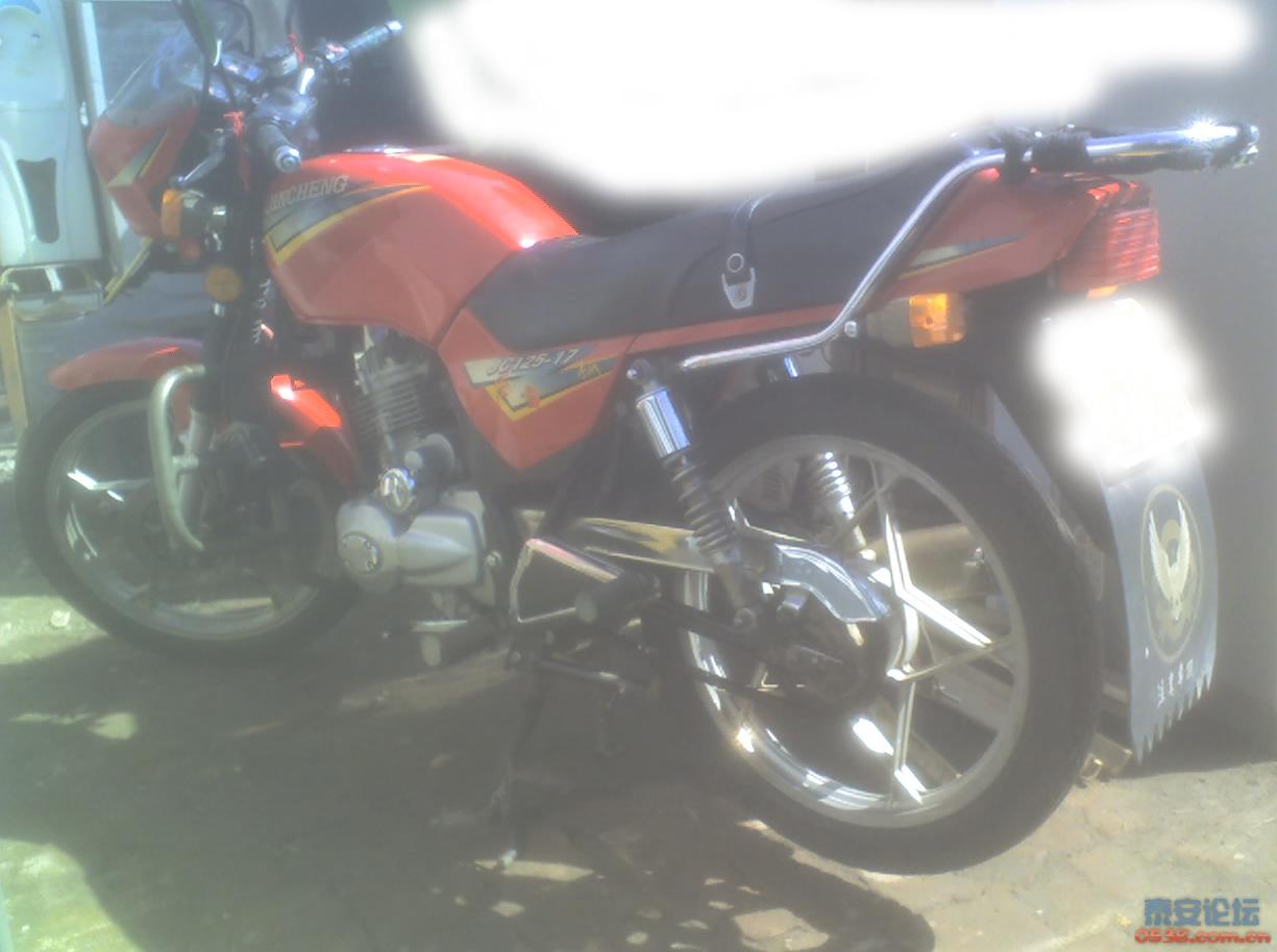帮朋友出男士125摩托车!手续齐全.降价2100元