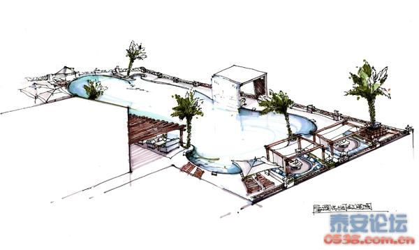 房山csd中央休闲购物区之民宿的屋顶设计图; 房山csd中央休闲购物区之