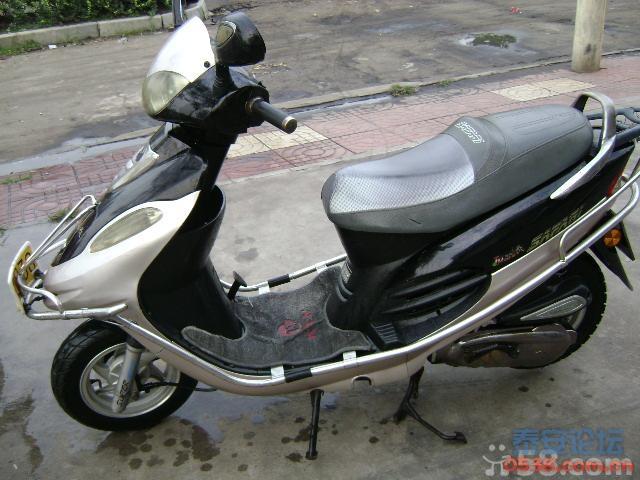 卖辆精通天马踏板摩托 成色很新 进口的机子
