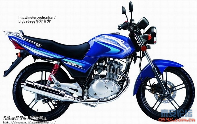 gsx125 哪位大侠懂摩托啊 小弟想买摩托车 看中了轻骑铃木的 骏驰gt